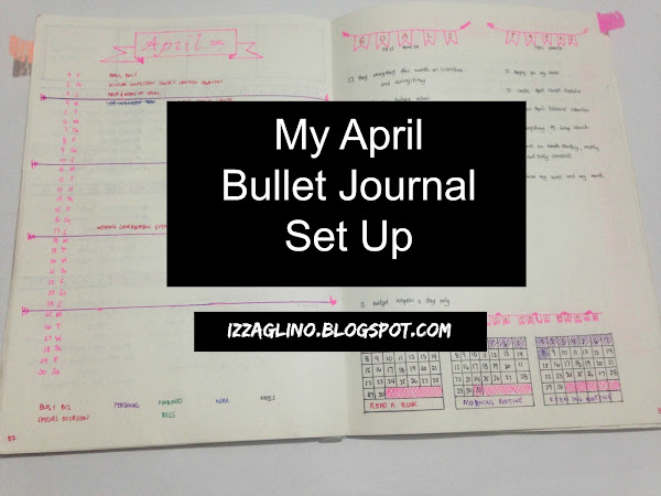 My April Bullet Journal Setup