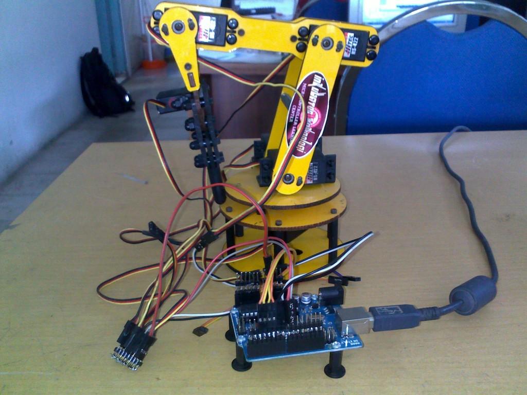 Arm robot arduino servo lengan uno r