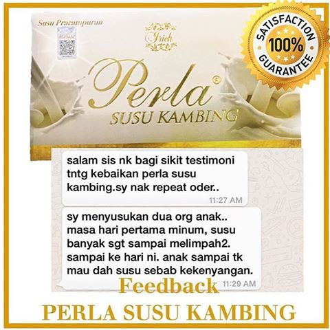 Image result for perla susu kambing