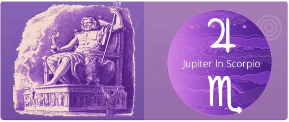 Astrology Jupiter in the Signs, Scorpio Horoscope
