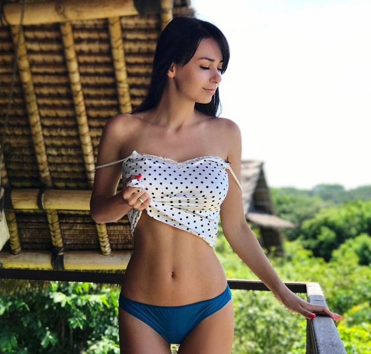 Fitness model from Russia Helga Lovekaty 3