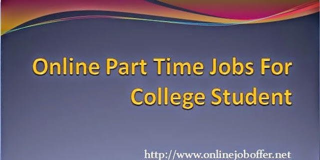 Online Jobs For College Students From Home