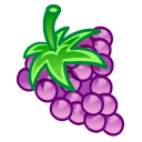 grapes fruit icons