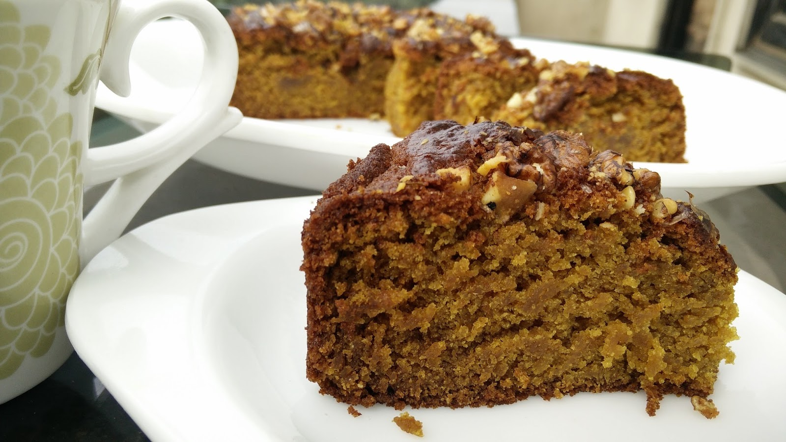 Cake Recipe With Kadai: Eggless Whole Wheat Jaggery Cake