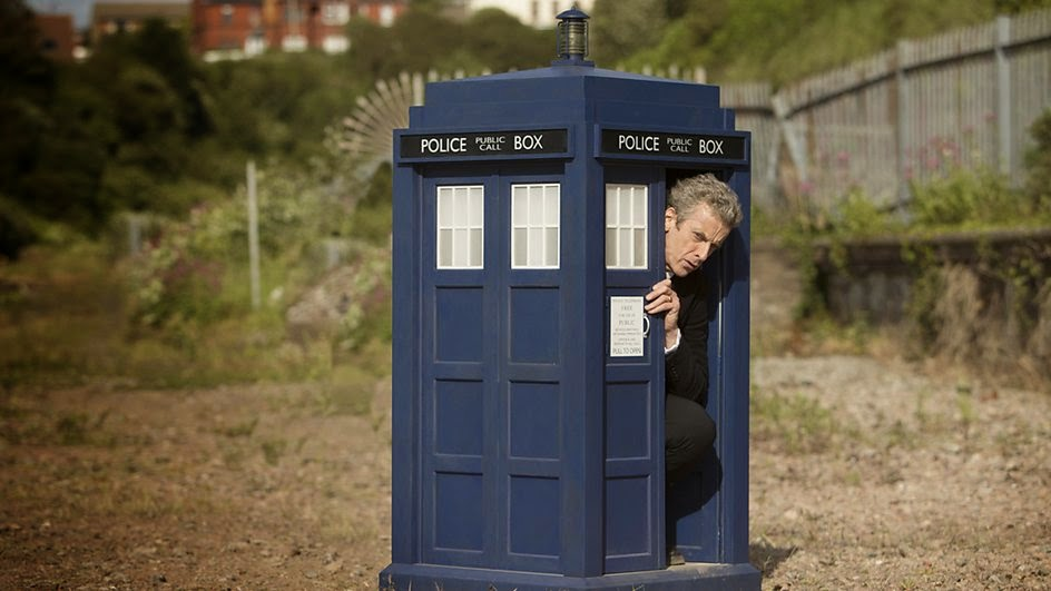 The Doctor has some trouble with the TARDIS