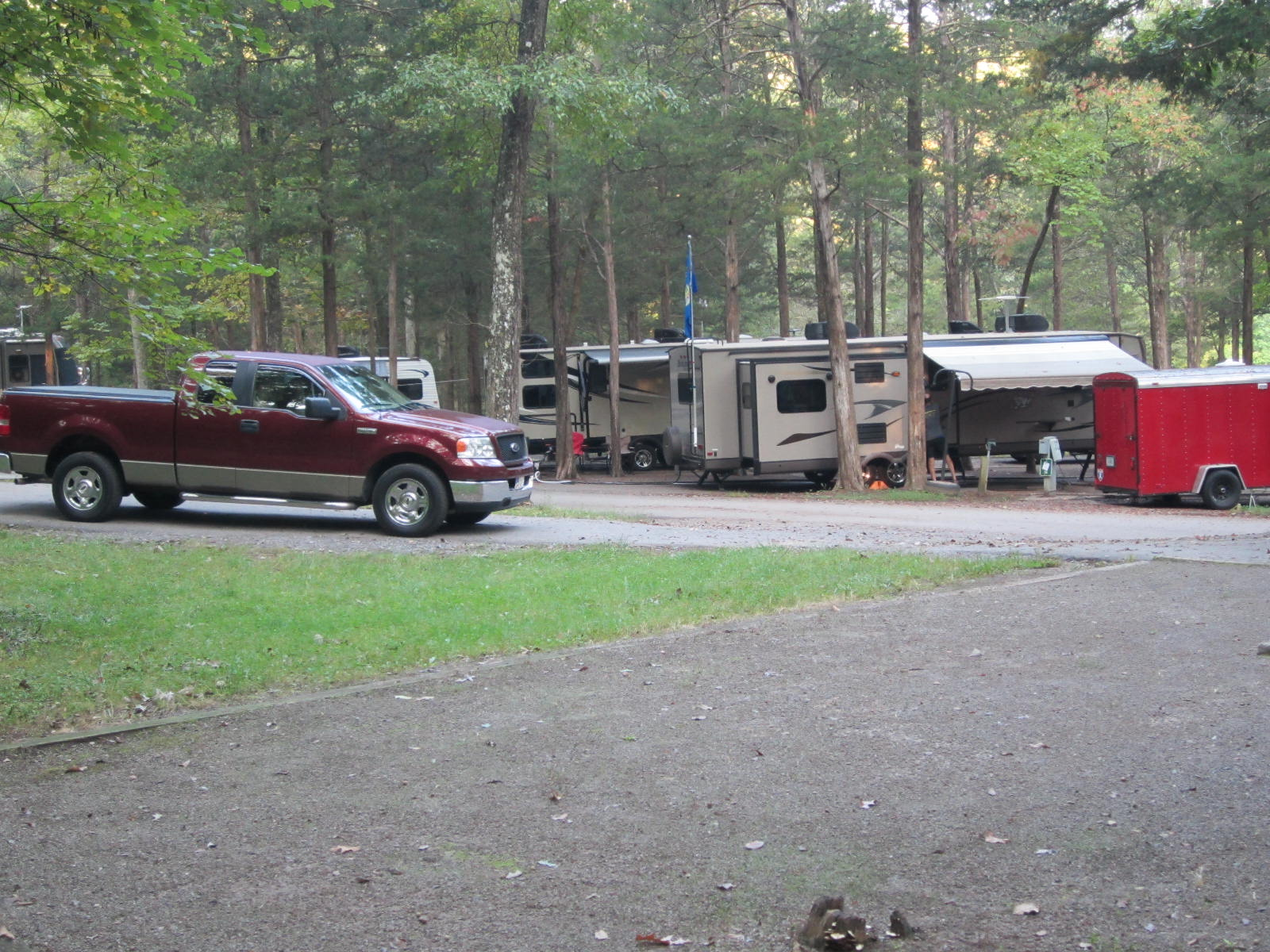 We would rather be camping cedars of lebanon state park for Cedars of lebanon cabins