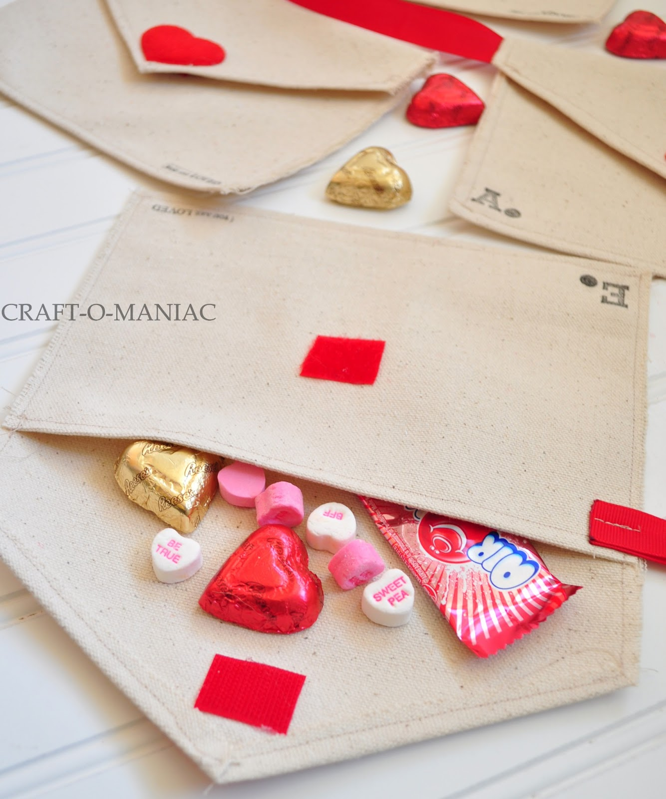 Image result for valentines day fabric envelopes