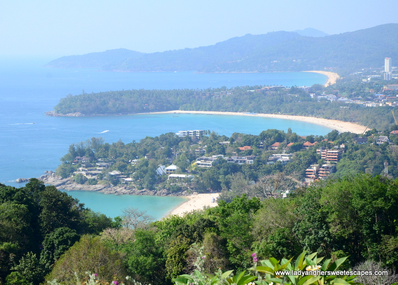 how to get to karon viewpoint