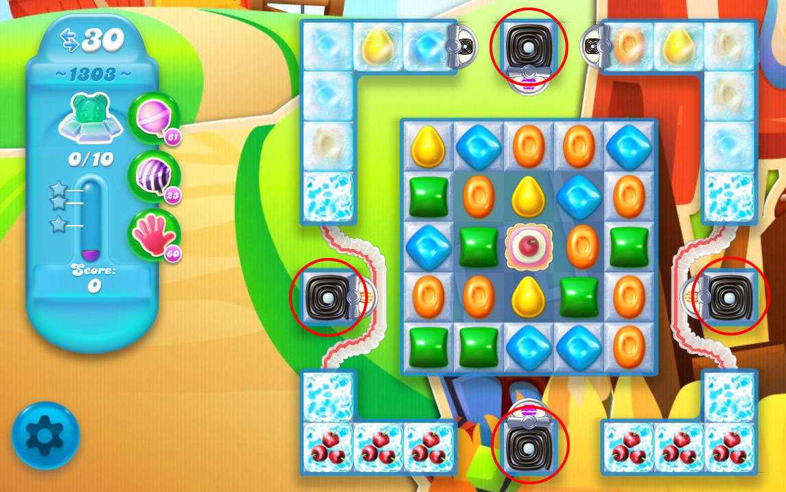 Candy Crush Soda Saga level 1303