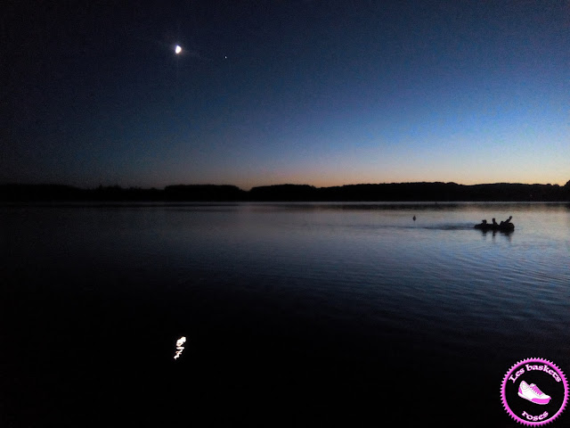 lake by night