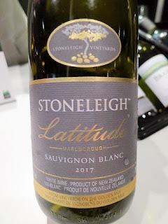 Stoneleigh Latitude Sauvignon Blanc 2017 (89+ pts)
