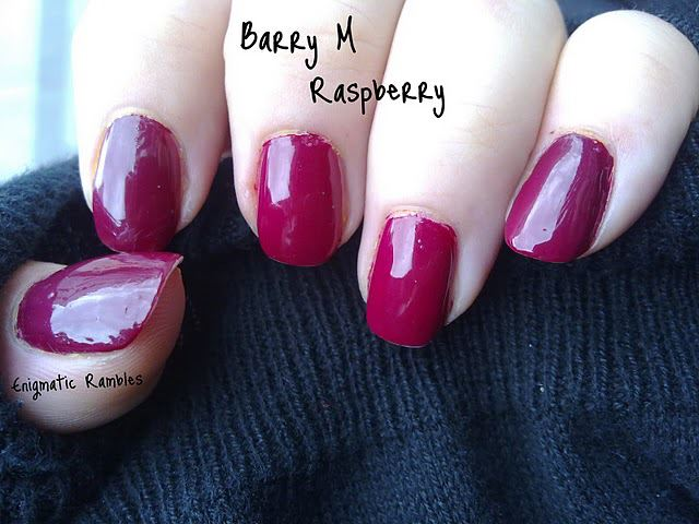 swatch-barry-m-raspberry-polish-nail-varnish-enigmatic-rambles