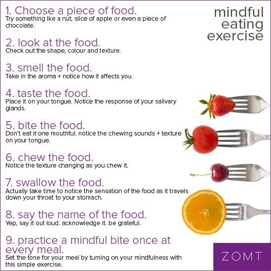 Mindful Eating Exercise Chocolate