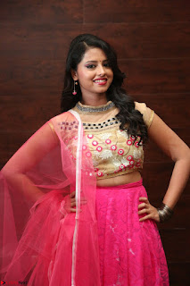 Geethanjali sizzles in Pink at Mixture Potlam Movie Audio Launch 030.JPG