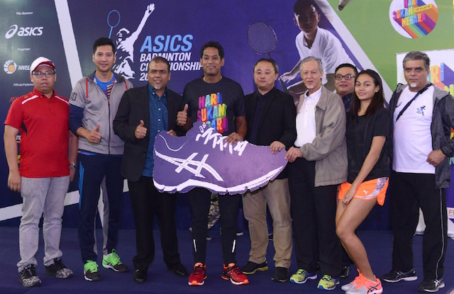 Khairy Jamaluddin at the finals