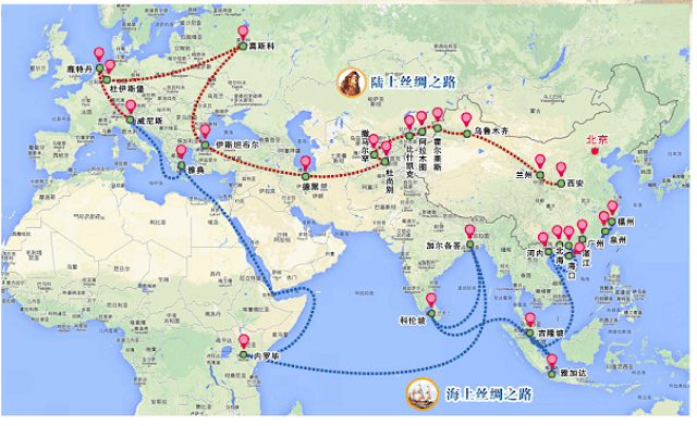 """Resultado de imagen de infraestructura """"Un cinturón, una carretera"""" china"""