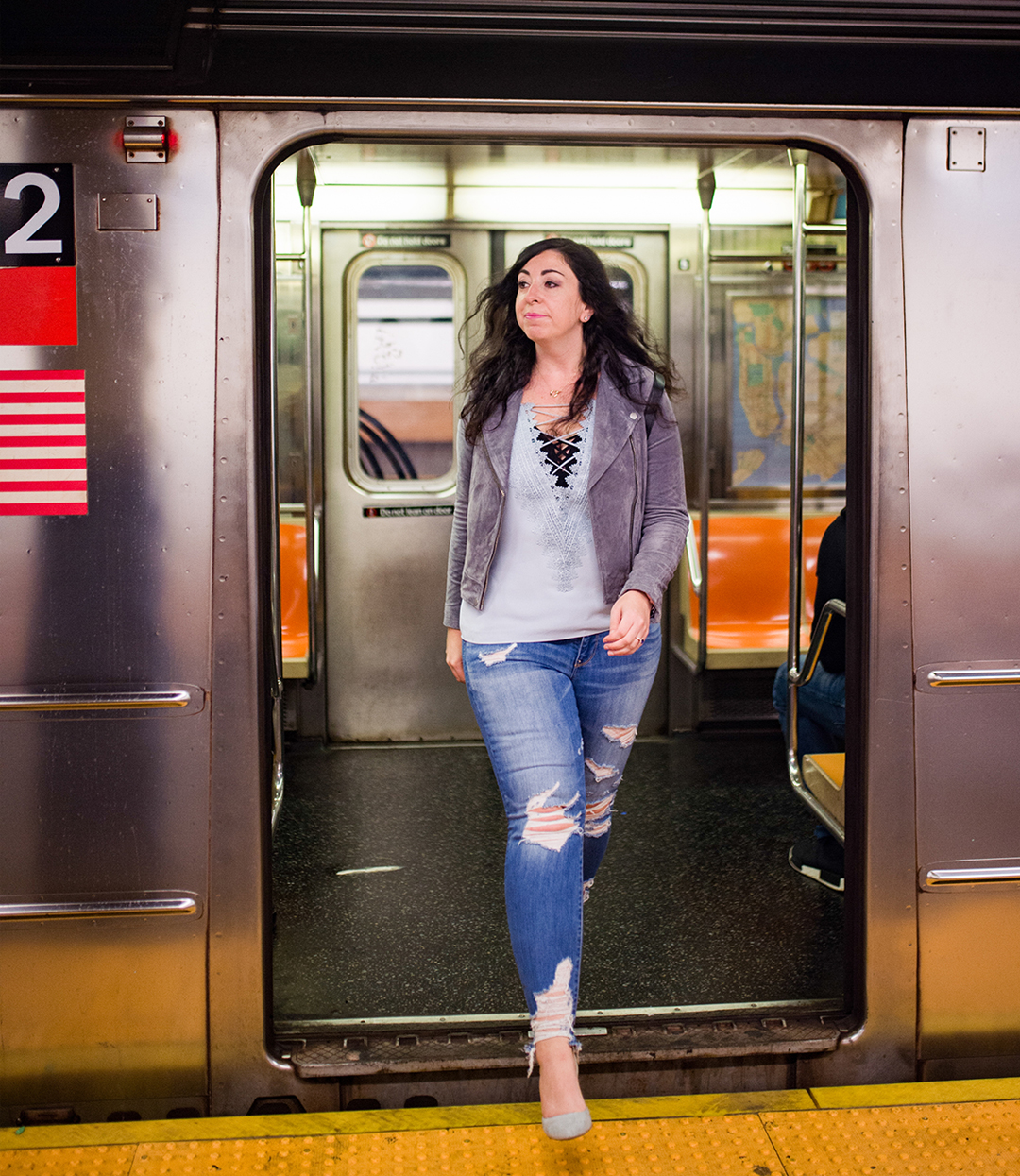 The fashionable commute outfit :: Effortlessly with Roxy