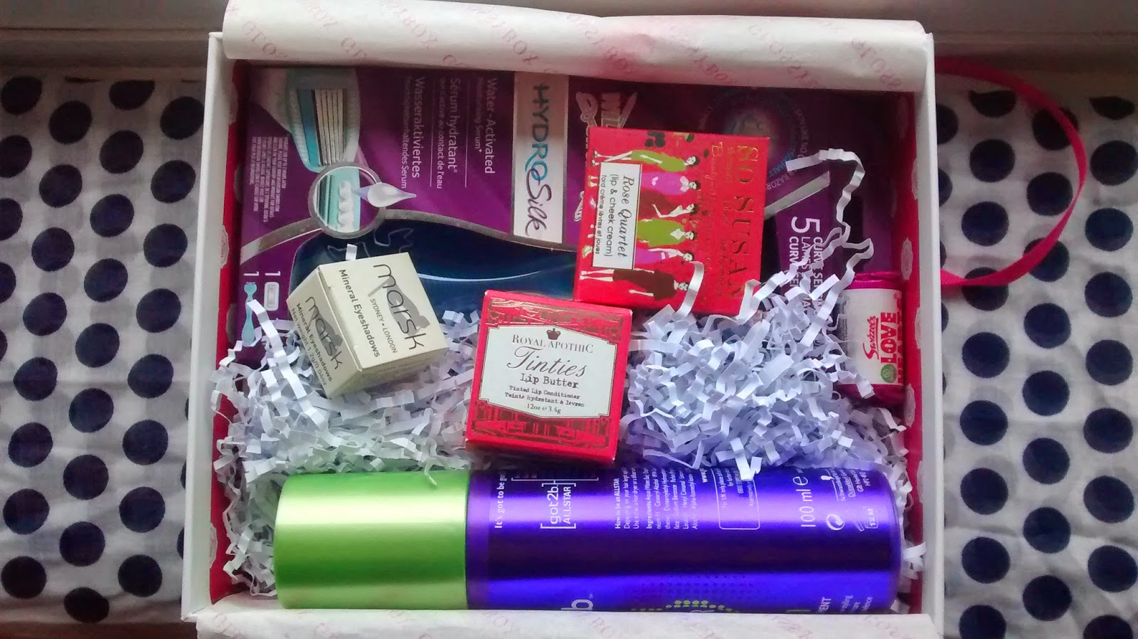 February Glossybox Contents