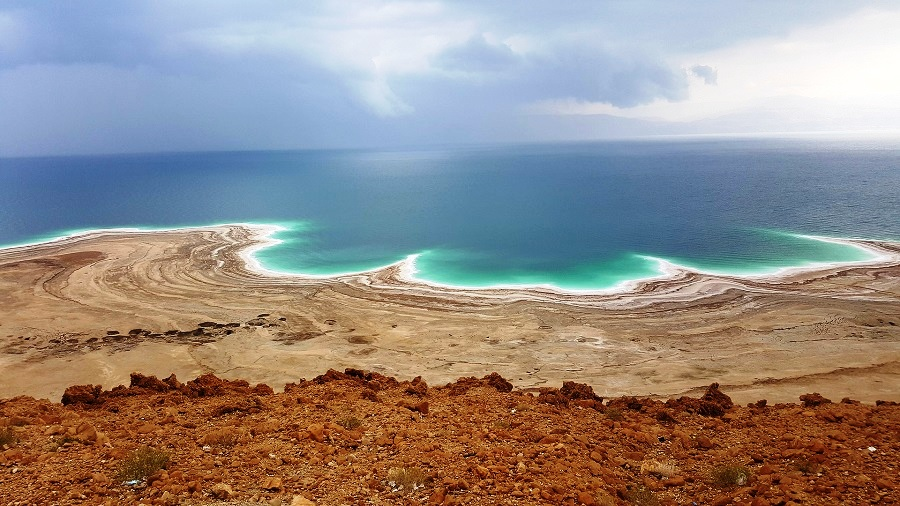 The Dead Sea - Where You Can Float Without Any Effort And Will Never Drown