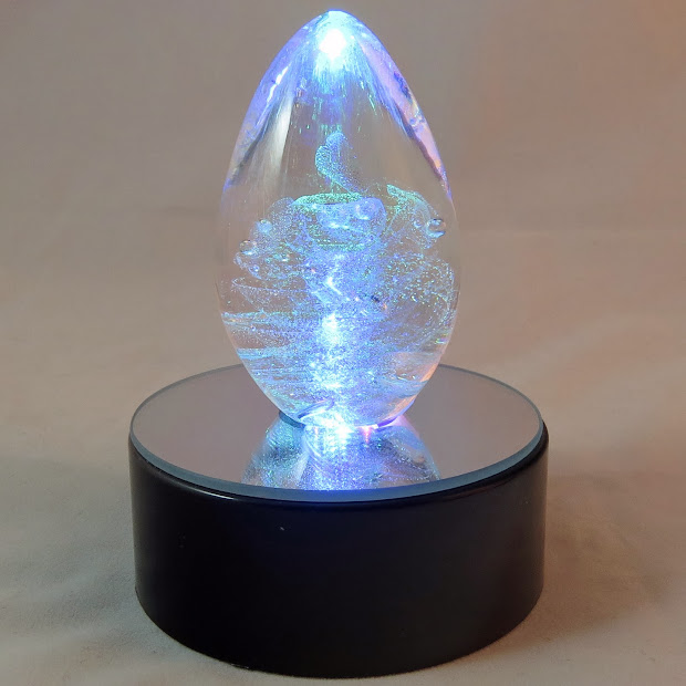 Holidays And Memories Glass Eye Studio Led Lighted Bases