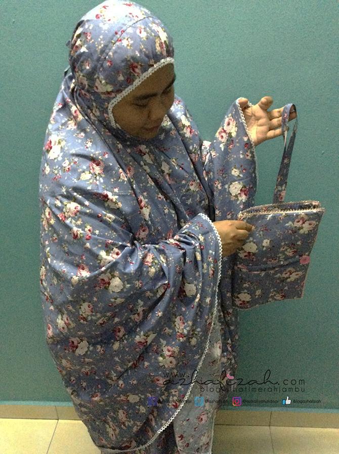 Telekung Japanese Cotton Lace Berpoket Blog Sihatimerahjambu