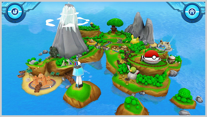 screenshot de campamento pokémon