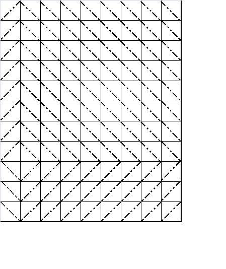 Okie dokie Quilt Block Swap : Diamond in the Rough quilt