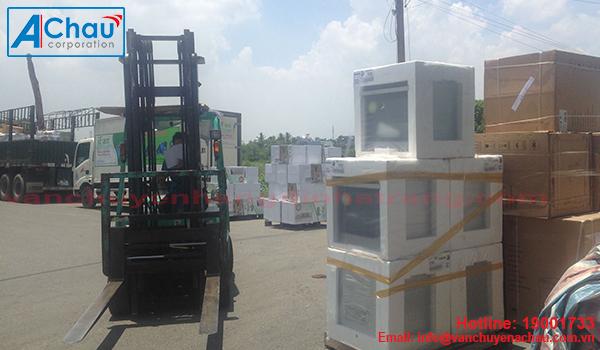Vận chuyển máy móc thiết bị tại TP.HCM