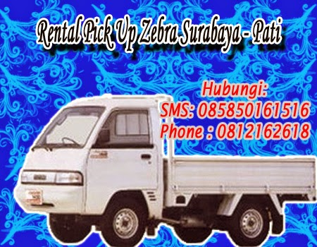 Rental Pick Up Zebra Surabaya - Pati