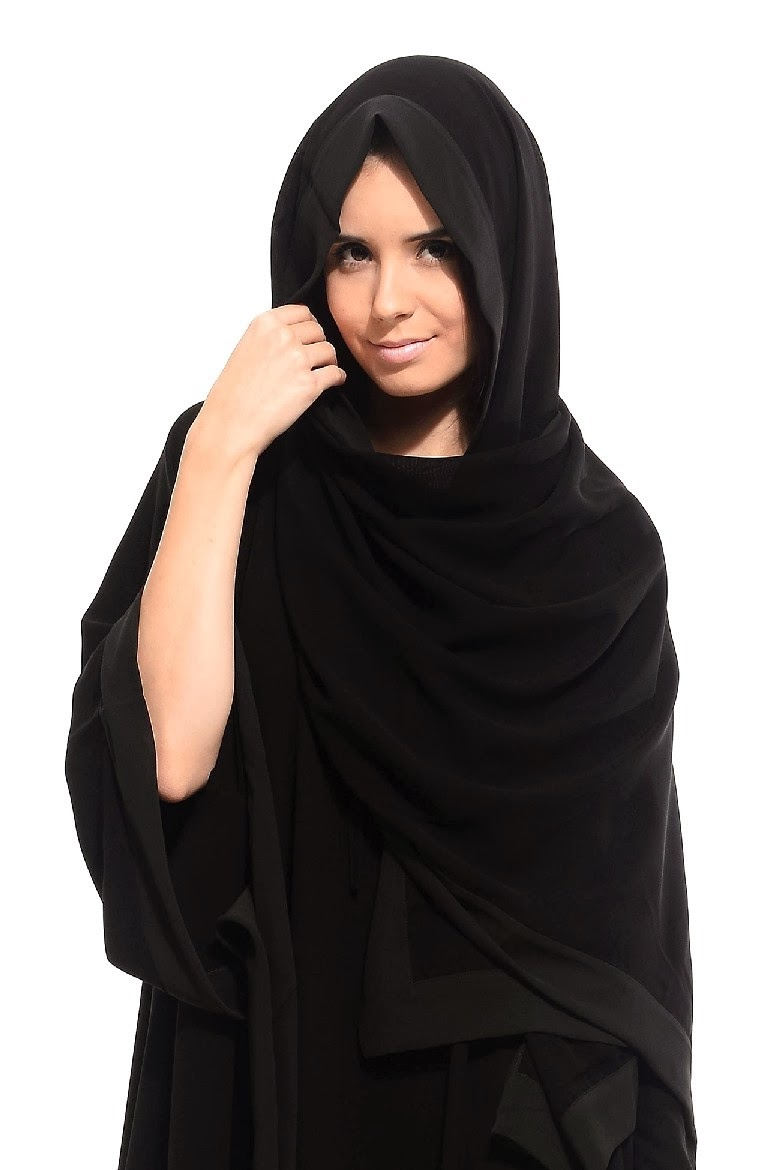 Colored Abaya Collection 2014 2015 Arzu Ergen Black