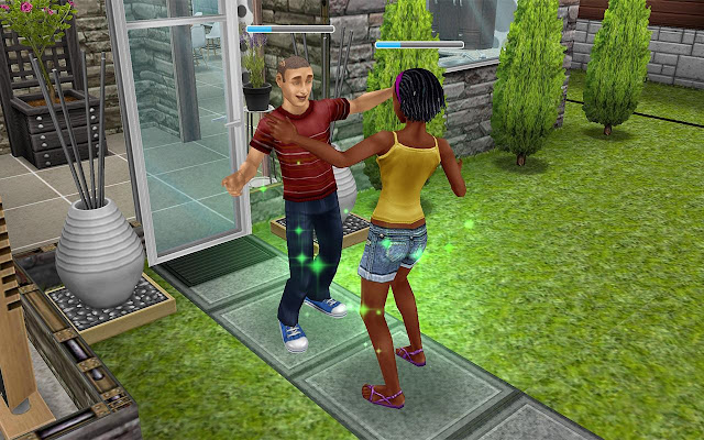 Screenshot Free Download The Sims FreePlay Apk Terbaru gratis