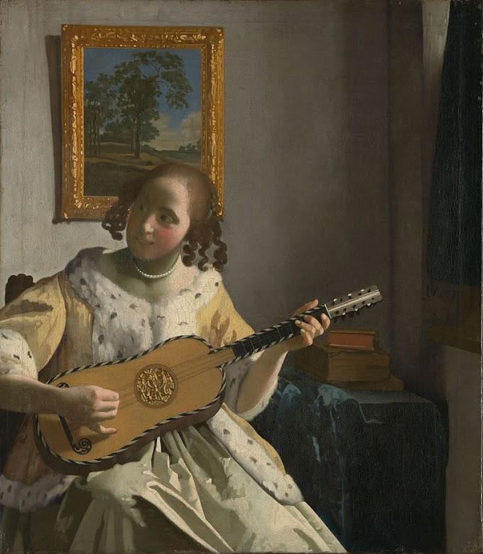 لوحة العزف بالجيتار