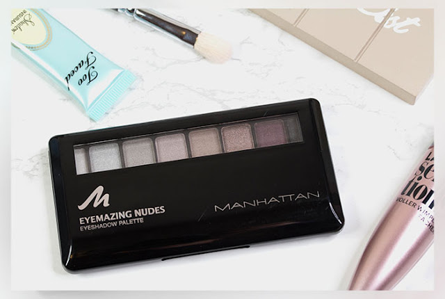 Manhattan Eyemazing Nudes Eyeshadow Palette 'Shades of Manhattan' | Review + Swatches