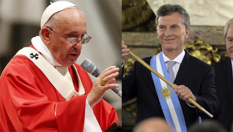 Pope Francis allegedly rejects donation that contains 666 number from Argentina president