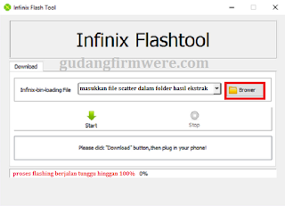 2 Cara Flash Infinix Alpha X570 via infinix flashtool