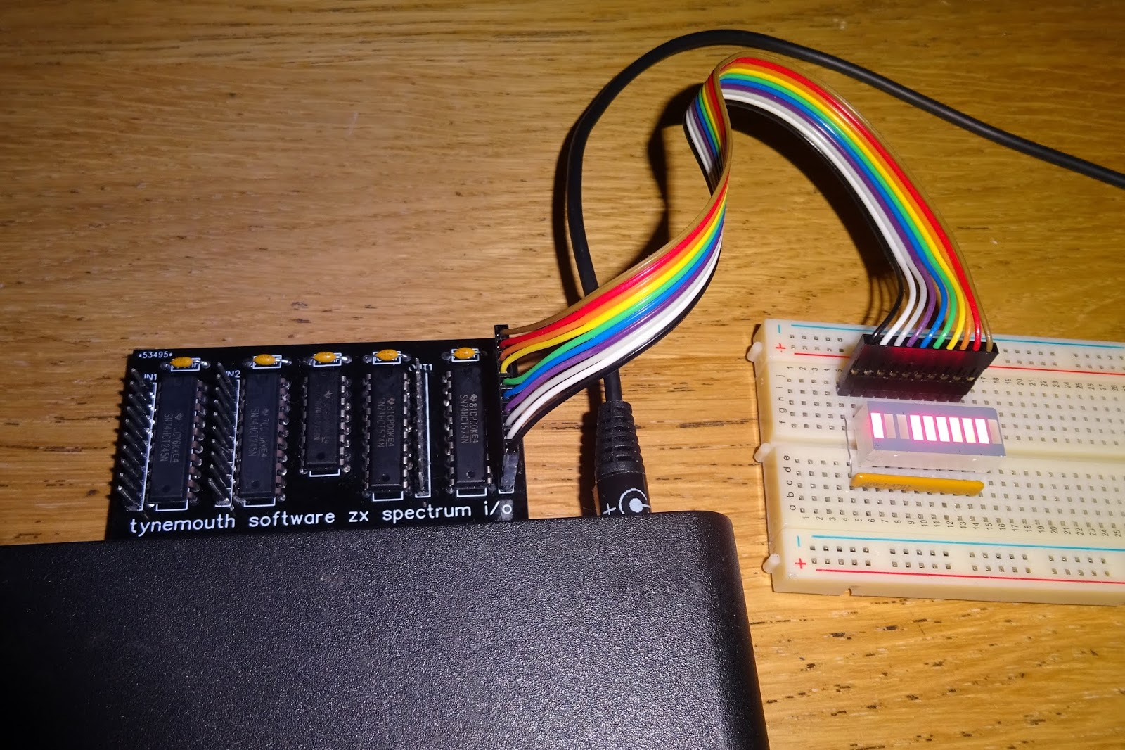Tynemouth Software Zx Spectrum Io Interface The Basic Digital Computing Circuitry Used In Sinclair Input Command Is