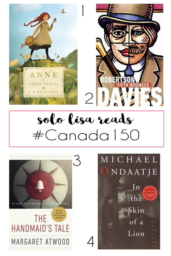 #CanLit #Canada150 Solo Lisa Reads picks