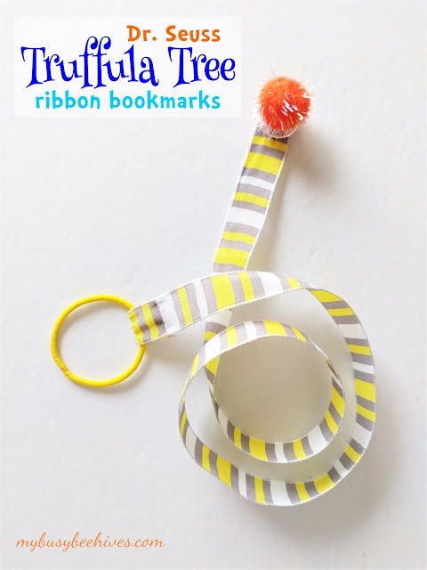 Dr. Seuss Truffula Tree Ribbon Bookmarks