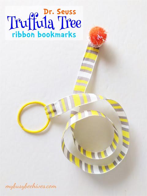 Dr. Seuss Truffula Tree Ribbon Bookmarks