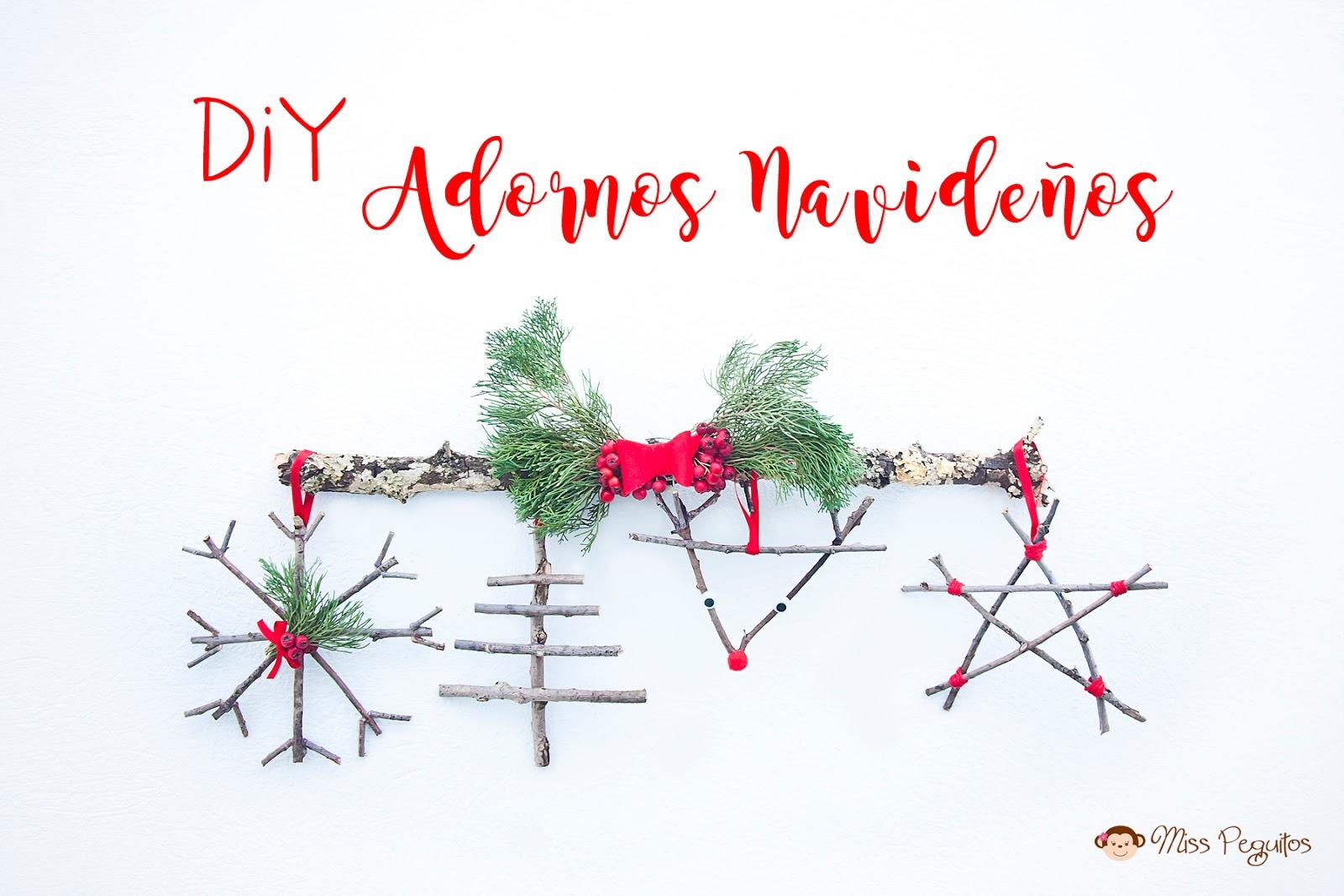 Diy adornos de navidad rusticos handbox craft lovers - Adornos navidad diy ...