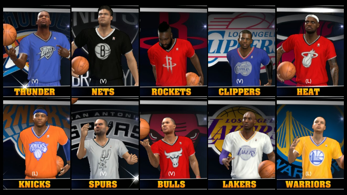 NBA 2K14 Complete Christmas Jersey Patch