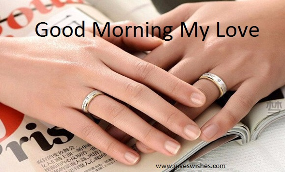 Best 30 good morning love quotes for cute girlfriend giveswishes your love is my happiness all my days are filled with the wonder of your love a very sweet good morning to the love of my life voltagebd Images