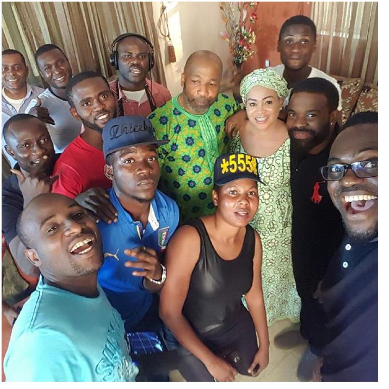 Ghettohood Nollywood Yoruba Movie: Bukky Wright, Yemi