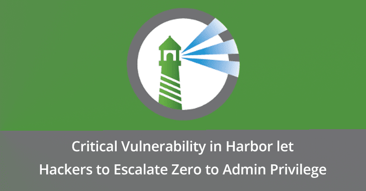 Harbor  - Harbor - Critical Vulnerability in Harbor let Hackers to Escalate Privilege