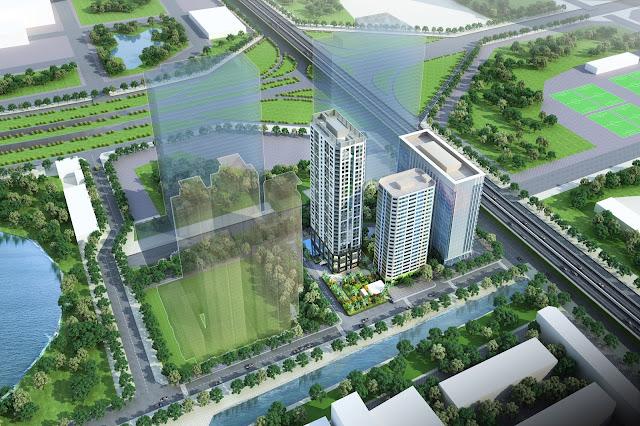Phối cảnh siêu dự án Vinata Towers 289 Khuất Duy Tiến