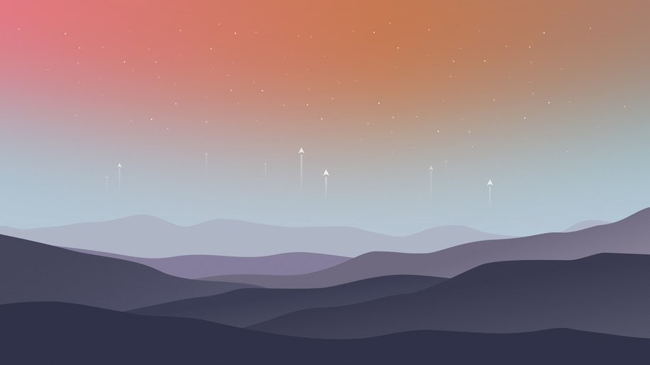 Landscape Minimalist Digital Art 8k Wallpaper 23