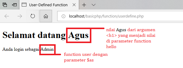 Pemrograman PHP : Built-In Function dan User-Defined Function di PHP