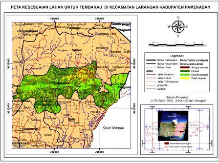 BaP4K Penyuluh: Kesesuaian Lahan Tembakau di Kecamatan ...