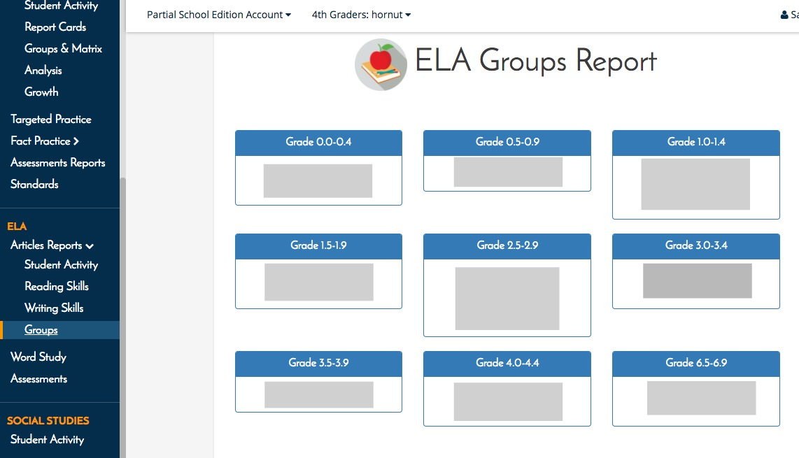 Front row for ela articles adaptive math the eager teacher the word study reports show the progress my students have made toward mastering word study skills spelling patterns and phonics lessons fandeluxe Gallery