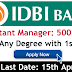 IDBI NOTIFICATION 2019